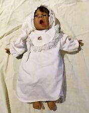 ***### Babypuppe 37 cm Weichkörper m. Schlafkleidung ###***
