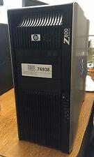 HP z800 Intel Xeon x5687 4x 3,60ghz 250gb 8gb NVIDIA quadro quadro 4000