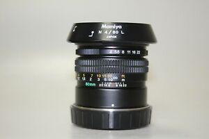 Mamiya N 80mm f/4 L medium format MF rangefinder Lens for Mamiya 7 7II 6x7