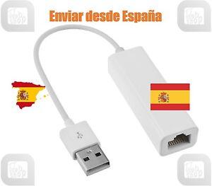 USB To Ethernet RJ45 Female Network Lan Adaptor Dongle 100Mbps