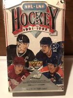 🔥🔥1991-1992 Upper Deck Hockey Wax Box - Low Number - Factory Sealed