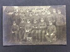 Vintage RPPC: Military #M228: RA 1919 Norfolk Sussex DLI Oxford Buck Manchester