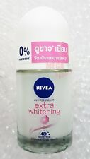 25ml NIVEA EXTRA WHITENING DEODORANT ROLL ON Antiperspirant Q10 CELL REPAIR 48hr