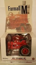 Ertl Farmall M 100 YEARS 1/16 diecast metal farm tractor replica collectible