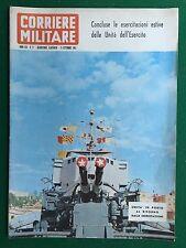 Rivista/Magazine CORRIERE MILITARE n.17/1963 (ITA) FABIO CUDICINI CALCIO