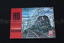 E119 Catalogue train JOUEF Ho année 1970 1971 matic voiture circuit routiers