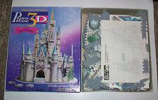 Milton Bradley Puzz3D Walt Disney Cinderella's Castle pre-owned Wrebbit