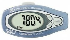 Sportline 340 Step / Distance Pedometer - Diet Fitness Exercise Tool WV3475BL