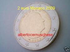 MONACO 2 euro 2009 da rotolino fdc Principe ALBERTO prince albert II Монако