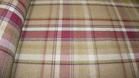 Heather Balmoral Wool Effect Tartan Upholstery Curtain Fabric Plaid Fabric
