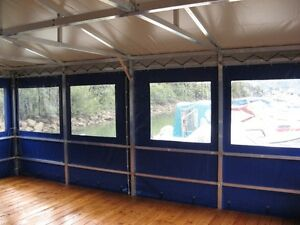 Klarsichtfolie PVC-Plane transparent Fensterfolie Fensterplane Rollenabschnitt