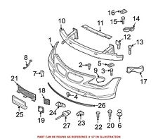 For BMW Genuine Brake Air Duct Front Left 51117051485