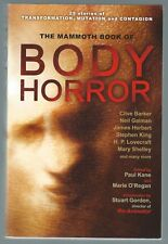 The Mammoth Book Of Body Horror Double Signed 2012 Paperback Good Condition