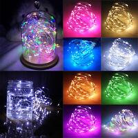 Battery 20/30/40/50/100 LED Christmas Party Lights Xmas Fairy String Lights Xmas