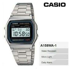 Casio Standard Digital Silver Color Watch A158wa-1JF (Import from Japan)