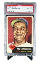 1953 Topps #27 Roy Campanella Dodgers PSA 4 - Vg/ex