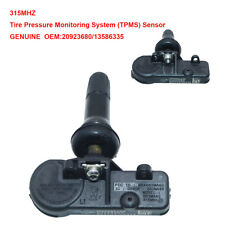 1 OEM GM Tire Pressure Monitoring System (TPMS) Sensor 20923680 for GMC Cadillac