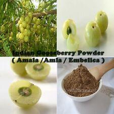 500g/1.1 lbs INDIAN GOOSEBERRY Amalaki Amla Powder 100% natural Free Shipping