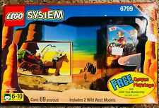EXTREMELY RARE 1997 Lego Western 6799 Canyon Showdown Cowboys New & Sealed