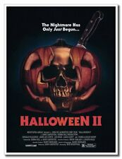 "Halloween 2 II 12""x8"" Horror Movie Skull Silk Poster For Home Shop Cool Gifts"
