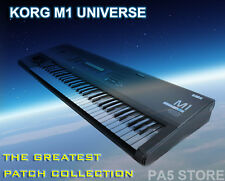 Korg M1 Universe - M1R - M1R-EX - Legacy Custom patches & editor - DOWNLOAD