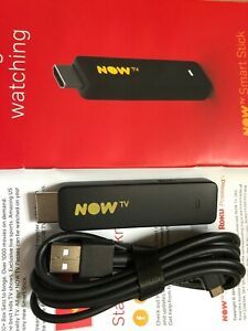 Now TV Smart Stick + USB cable HD latest yellow model -bbci Netflix Disney WiFi