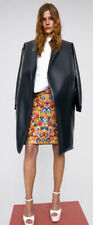 CELINE PHOEBE PHILO RESORT 2012 MULTICOLOR FLORAL JACQUARD SKIRT 36/US 2