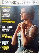 La Domenica del Corriere 6 Giugno 1972 Fracci Scala Brando Calimero Pagot Juve