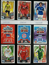 10x Aussuchen - Topps Match Attax Bundesliga 13/14 14/15 15/16+Match Attax Extra