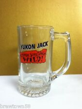 Yukon Jack liquor cocktail drink glass mug Chase Something Wild! glassware SG9