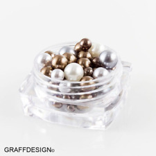 Nailart Candy Balls - Glass Perlen in verschiedenen Grössen - 907-012