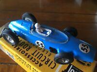 Voiture Slot FERRARI F1  #55 JOUEF circuit auto électrique 1/43 + boite