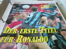 Fußball 14 1995-1996 Niederlande Pokalfinale PSV Eindhoven Sparta Rotterdam 5:2