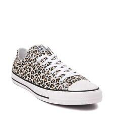converse de leopardo rosa