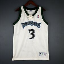 100% Authentic Stephon Marbury Vintage Starter Wolves Jersey Size 40 M Mens