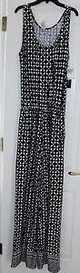LaBlanca Black/White Print Cover Up JumpSuit Size M/9,10 Retail $123