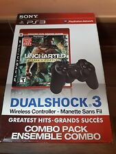 Uncharted Drakes Fortune + Mando Dualshock 3 PS-3