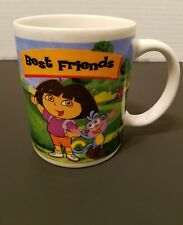 Dora the Explorer Coffee Cup Mug Best Friends Cup Monogram 2005