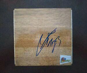"Cappie Pondexter Signed Autograph 6x6"" WNBA Basketball Wood Floor Board Piece"