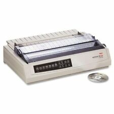 Okidata 62412001 Microline 391 Turbo Printer - B/w - Dot-matrix - 360 Dpi - 24