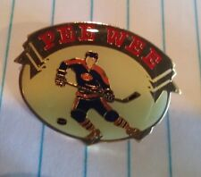 Pee Wee hockey player lapel pin pre-owned
