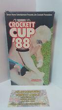 Jim Crockett Promotions CROCKETT CUP '88  VHS 1988 Turner Home Entertainment
