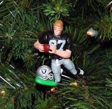 dave CASPER oakland la RAIDERS xmas NFL football ornament HOLIDAY vtg JERSEY 87
