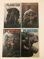 Near Complete Set Planetoid #1 2 4 5 Image Comics (2012-2013) VF/NM