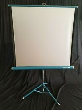 Da-lite Silver Flyer Movie Projector Screen with Tripod