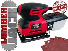 1/4 foglio Dettagli Palm Sander 240w con Scatola polvere & fogli abrasivi ELECTRIC 240v