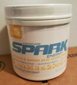 Advocare Spark Pineapple Coconut 42 canister Amino Acid *FAST SHIPPING!!!*