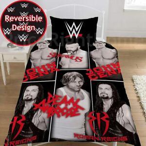WWE Single Double Duvet Cover Bedding Set Wrestling Stars