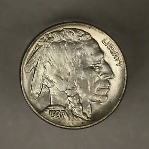 Buffalo Nickel 1937 D