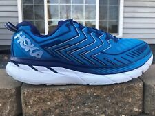Men's Hoka One One Clifton 4 Running Shoes Size 12